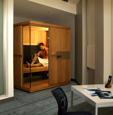 Een infrarood sauna voor thuis equano wellness - Voor thuis ...